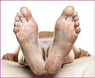 Wohltuende Fuß-Masken